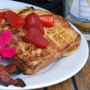 Grilled Coconut Rum French Toast