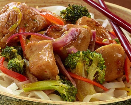 Grill Glazed Sweet Asian Chicken Pan Grill