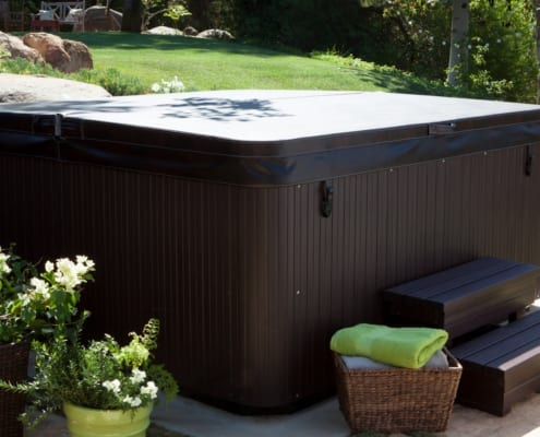 The Hot Tub is Your Backyard Centerpiece
