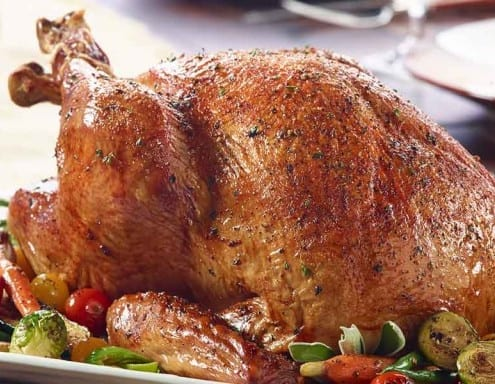 The Perfect Roasted Turkey