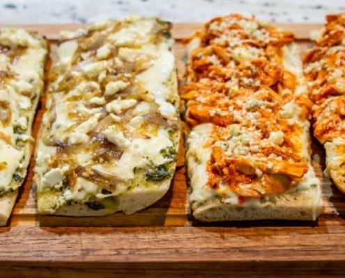 smothered bread