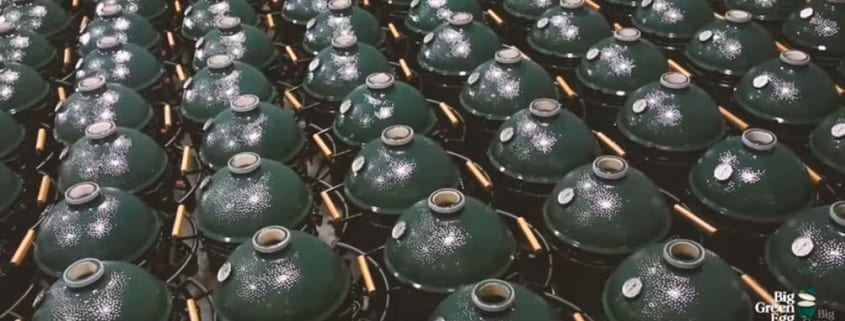how the big green egg is made