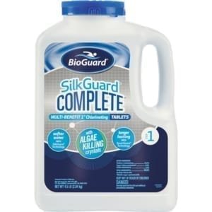 BioGuard SilkGuard Complete 1 Inch Chlorinating Tablets-4.5pounds
