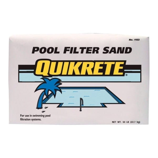 Quikrete Pool Filter Sand